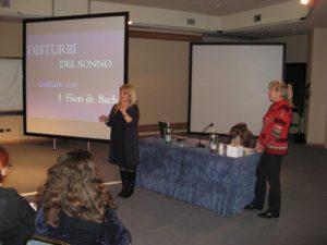 La Dott.ssa Alessandra Isola presesenta la relatrice Sigrid Sailer