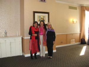 Claudia Rainville con le Dott.sse Miriam Dodero e Alessandra Isola